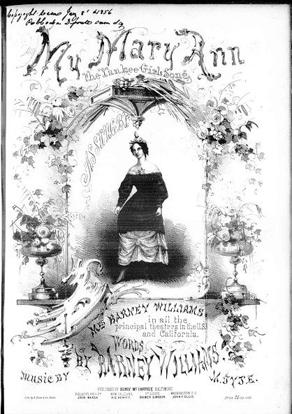My Mary Ann sheet music